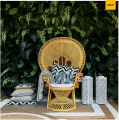 Fotel Greenport Peacock Chair Yellow