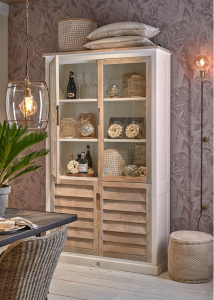 Kredens Pacifica Glass Cabinet