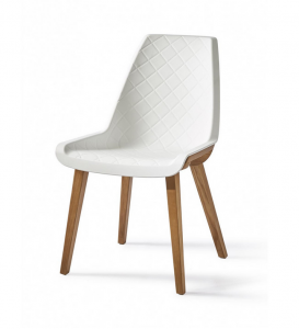 Krzesło Amsterdam City Dining Chair, pure white