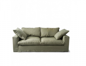 Sofa Residenza 3,5 Seater, oxford weave, forest green