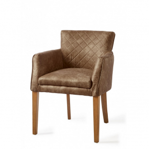 Krzesło Waverly Dining Armchair, pellini, coffee