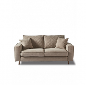 Sofa Kendall 2,5 Seater, cotton, natural