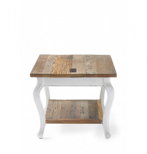 Stolik Driftwood End Table, 60 x 60