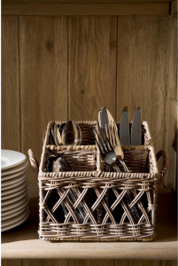 Koszyk Rustic Rattan Couvert Basket Square