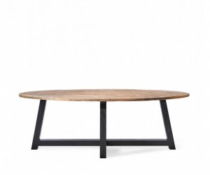 Stół Canyamel Dining Table Oval Black base, 230 cm