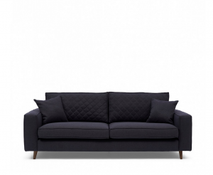 Sofa Kendall 3,5 Seater, oxford weave, classic charcoal