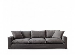 Sofa Residenza XL, oxford weave, classic charcoal