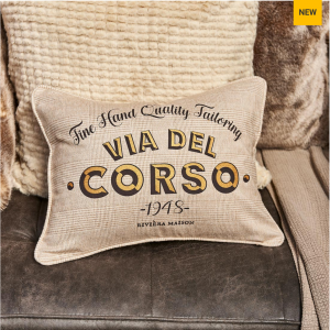 Poduszka Via Del Corso 1948 Pillow Cover 30x40