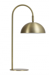 Lampa stołowa LED 28x20x51 cm JUPITER antique brass