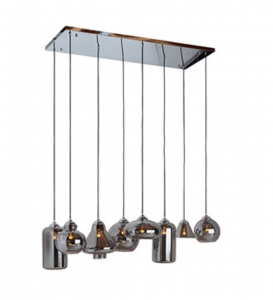 Lampa sufitowa Crosley with 8 different lamps