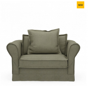 Fotel Carlton Love Seat, oxford weave, forest green
