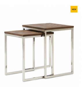Stoliki Bushwick End Table Set 2