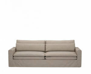 Sofa Continental Sofa 3,5 Seater, oxford weave, anvers flax