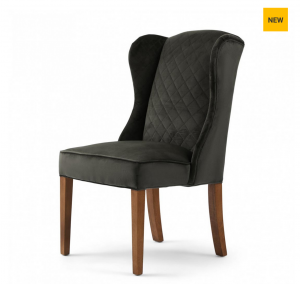 Krzesło William Dining Chair, velvet, slate grey