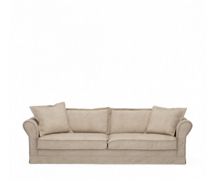 Sofa Carlton 3,5 Seater, washed cotton, natural