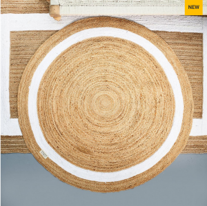 Dywan Rocat Round Carpet natural 160cm