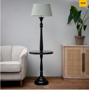 Lampa Clareridge Floor Lamp black