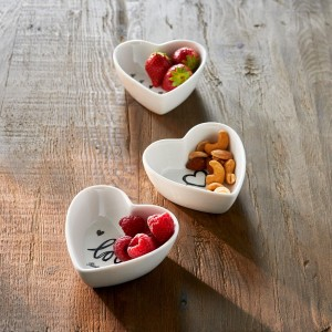 Miseczki Lovely Heart Bowls 3 pcs