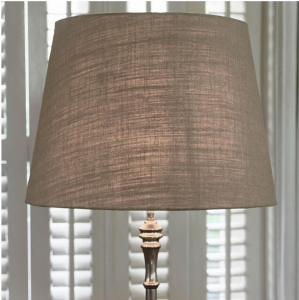 Abażur Classic Natural Linen Lampshade natural 42x55