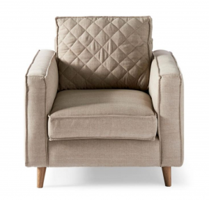Fotel Kendall Armchair, cotton, natural