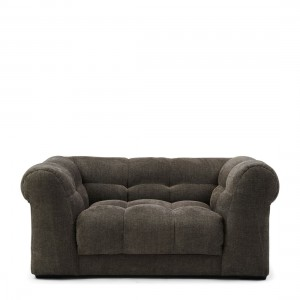 Fotel Cobble Hill Love Seat, celtic weave, mud