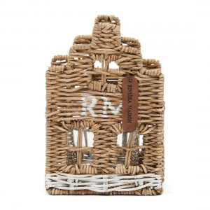 Lampion Rustic Rattan Happy Home Votive
