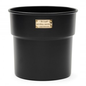 Donica City Loft Flower Pot black S