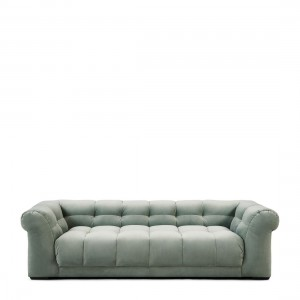 Sofa Cobble Hill Sofa 3,5 Seater, velvet, jade