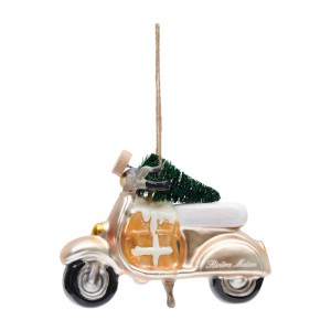 Bombka Christmas Scooter Ornament