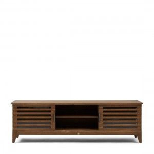 Komoda pod TV Divers Cove Flatscreen Dresser Oak