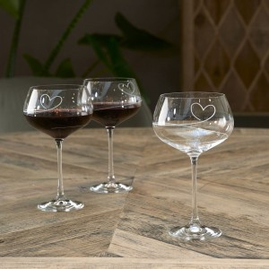 Kieliszek With Love Red Wine Glass