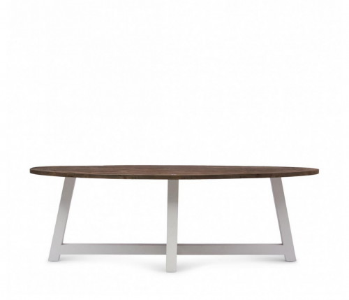 Stół Canyamel Dining Table Oval White base, 230 cm